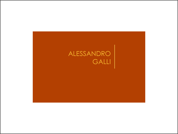 Website: Alessandro Galli